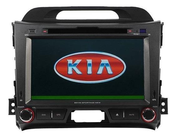 Central Multimidea Kia Sportage 2011/2014 Cam Ré + Tv + Gps