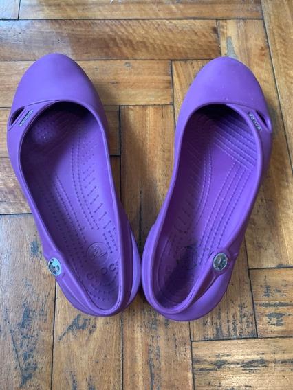 Crocs Mujer Sandalia Talle Us8