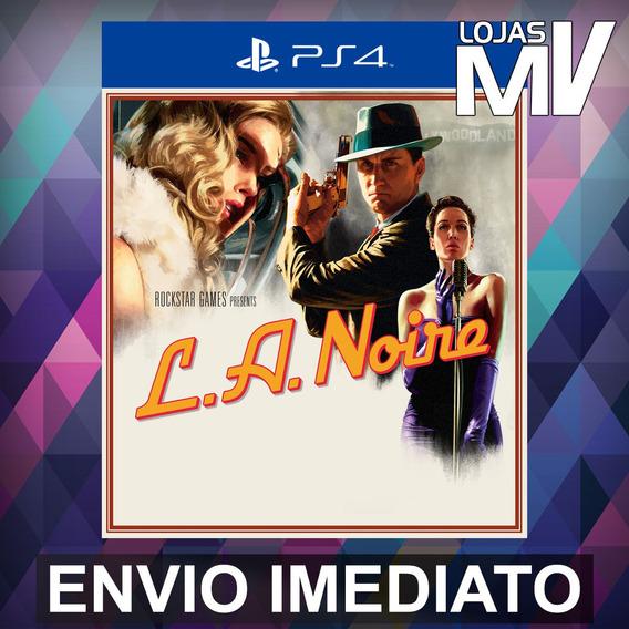 L.a Noire - Ps4 Código 12 Dígitos Playstation 4