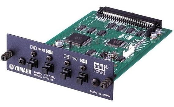 Interface Yamaha My 16 At