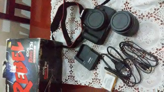Câmera E Filmadora Canon Rebel T5i