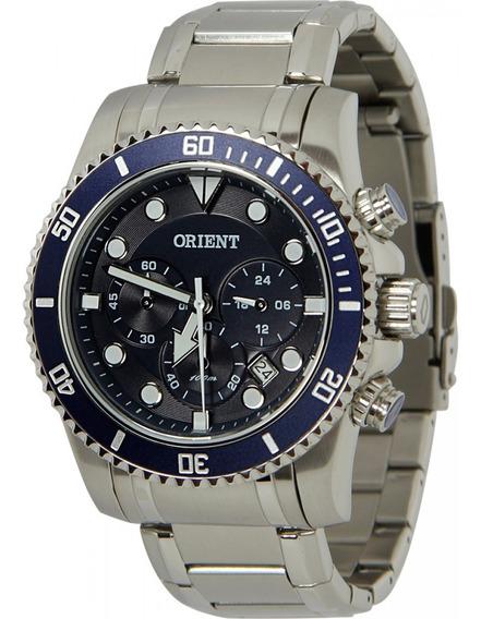 Relógio Orient Masculino Cronógrafo Mbssc100 D1sx