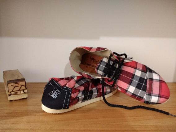 Alpargatas Boots Mike - Alpargatas De Diseño Chequepasa