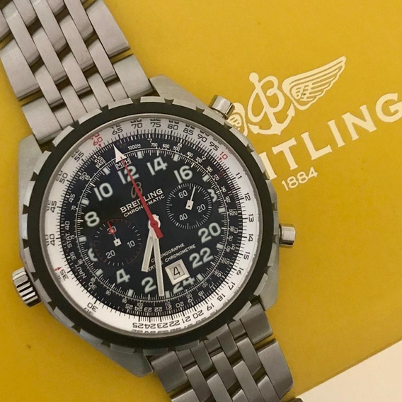 Breitling Chrono-matic 24hr Special Edition Impecável