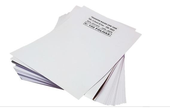 Papel Transfer Laser Rígido P/ Copos E Canecas 500 Folhas A4
