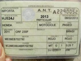 Moto Crf230