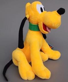 Pluto Da Turma Do Mickey Pelucia Musical 33cm Antialérgico