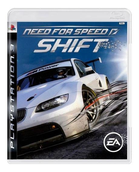 Playstation 3 Jogo Need For Speed Shift Ps3 Usado