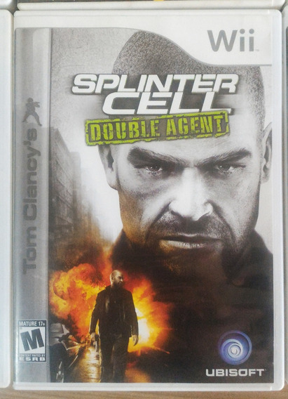 Tom Clancy Splinter Cell Double Agent Wii Frete Barato