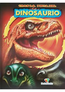 Libro Dinosaurios + L Cuento E Iluminar + Sorpresa