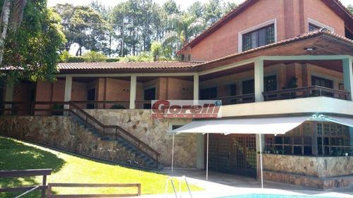 Chácara Com 5 Dormitórios À Venda, 10475 M² Por R$ 2.000.000,00 - Penhinha - Arujá/sp - Ch0101