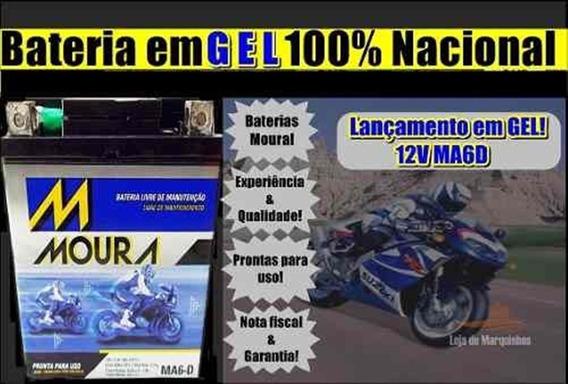 Bateria Moura Xtz 250 Lander 2007 2008 2009 Ma6d Ytx 7lbs