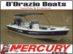 Lancha Tracker Trakker 520 Pescador C/mercury 60 Hp 4 Tiempo