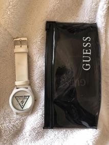 Relógio Guess Branco Plástico
