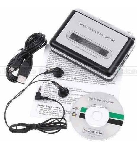 Imagen 1 de 2 de Convertidor De Cassettes A Mp3 Por Usb Grabadora P & Play