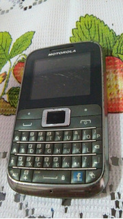 Celular Motorola Ex 116 =defeito