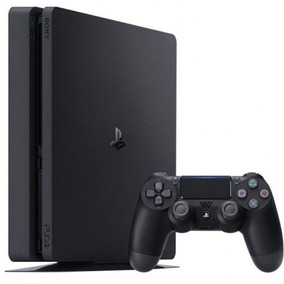 Console Playstation 4 Slim Hits Bundle 5 - 1tb + 3 Jogos - O