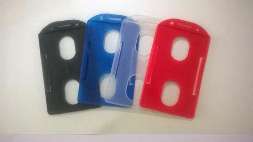 Portacarnets Plasticos Verticales