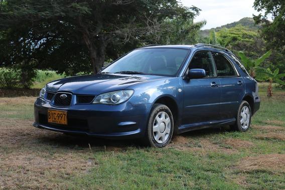 Subaru Impreza 1.6 2006 Azul 5 Puertas.