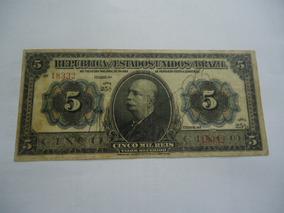 Cédula De 5 Mil Réis De 1913 R 095 Mbc Série 25a