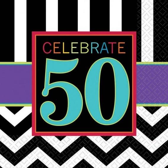 Servilleta Celebración 50 Años