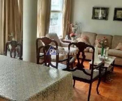 Apartamento À Venda, 3 Quartos, 1 Suíte, 1 Vaga, Leblon - Rio De Janeiro/rj - 6582