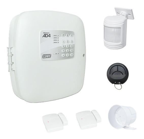 Kit Alarme Residencial Comercial Com 2 Sensores Sem Fio Rcg