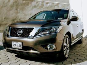 Nissan Pathfinder Exclusive 4x4 2015 Factura Original