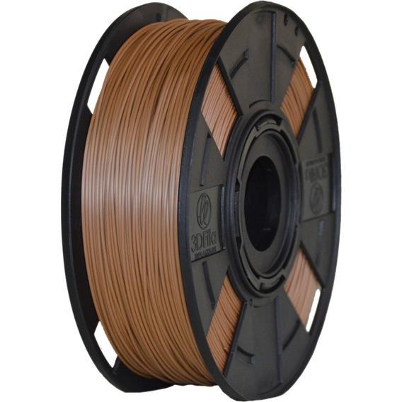 Filamento Pla Marrom Easyfill 1,75mm Impressão 3d 500 Gramas