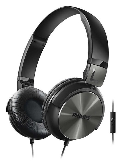 Fone De Ouvido Philips Shl 3165 C/microfone - Preto