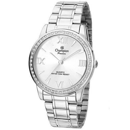 Relógio Feminino Prata Champion Ch24679q