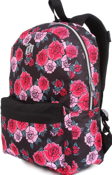 Mochila Capricho Liberty Black 11323 + Selfie Light