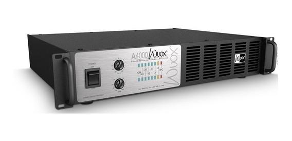 Machine Wvox A4000,1200watts, 4ohms, Nf E 1ano Garantia.