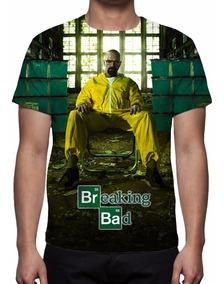 Camisa, Camiseta Série Breaking Bad