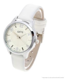 Reloj Zafira Mujer 1150 - Metal Simil Cuero Water Resistant