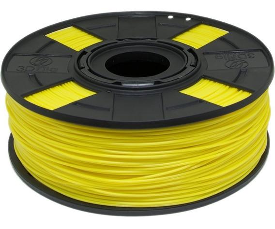 Filamento Pla Amarelo Basic 1,75 Mm 500g 3d 3dfila
