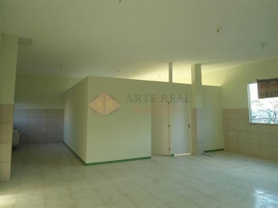 Salão Comercial Para Locação - Bairro Vila Nhocune, 8,00m X 12,50m = 100m, 2 Banheiros, Vaga No Recuo. - 1152