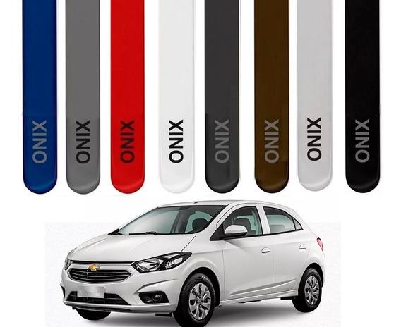 Friso Lateral Novo Onix 2012 2020 Gm Chevrolet Cor = Carro