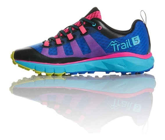 Zapatillas Running Salming Trail 5 Women Mujer Suela Vibram