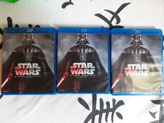 Coleçao Blu Ray Star Wars - A Saga Completa - 9 Discos