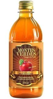 6 Und. - Vinagre De Maçã Montes Verdes **frete Grátis**