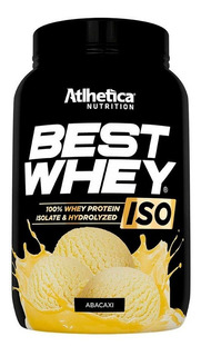 Best Whey Isolado 900g Atlhetica Nutrition Sabores