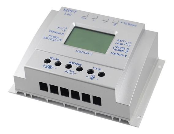 Controlador De Carga Solar 60a Mppt 12/24v L60( Off Grid )