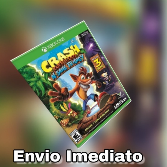 Crash Bandicoot Xbox One Digital + Brinde