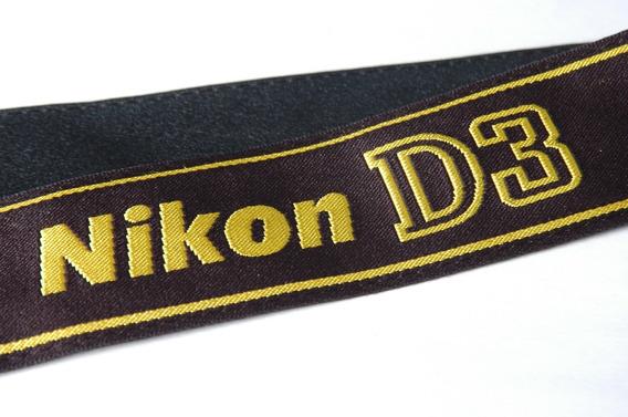 D3 Tira De Pescoço Original Alça Camera Nikon Strap Correia