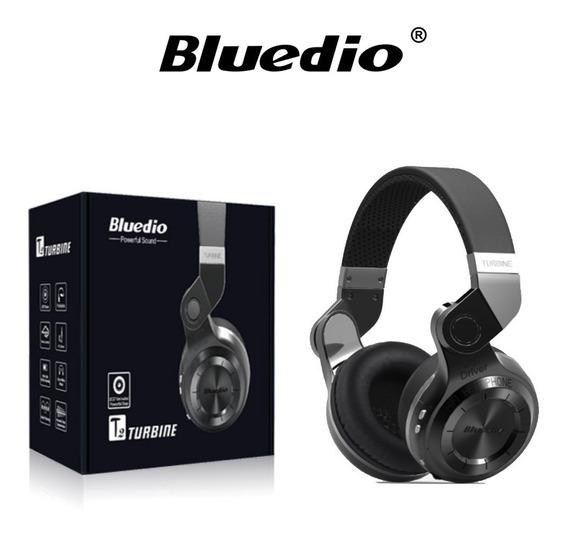 Fone Bluetooth 4.1 Bluedio T2 Com Microfone Original