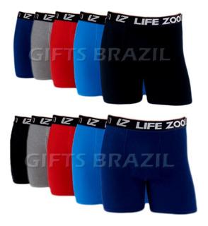 Kit 10 Cuecas Boxer Microfibra Preço Atacado Revenda Top1