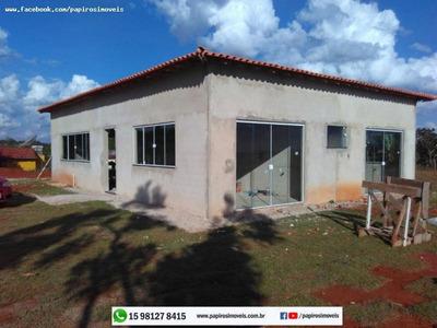 Chácara Para Venda Em Tatuí, Vale Dos Lagos, 3 Dormitórios, 1 Banheiro, 10 Vagas - 0018
