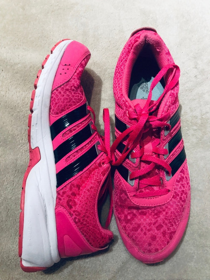 Zapatillas adidas Mujer Fucsia Rosa Us 8.5 - Adiprene Usadas