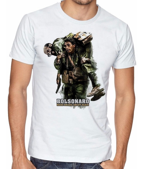 Camisa Bolsonaro Make Brazil Great Again